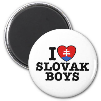 I Love Slovak Boys Magnet