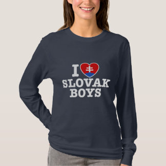 I Love Slovak Boys T-Shirt