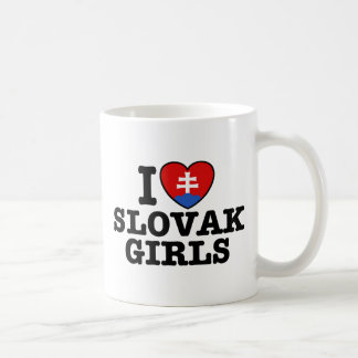 I Love Slovak Girls Classic White Coffee Mug