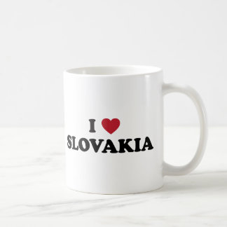 I Love Slovakia Classic White Coffee Mug