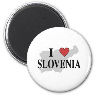 I Love Slovenia Magnet
