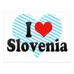 I Love Slovenia Post Cards