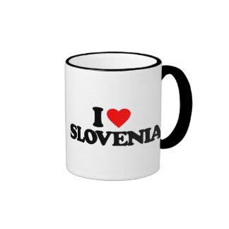 I LOVE SLOVENIA RINGER MUG