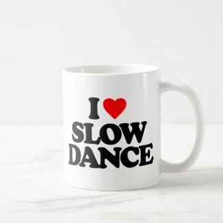 I LOVE SLOW DANCE CLASSIC WHITE COFFEE MUG