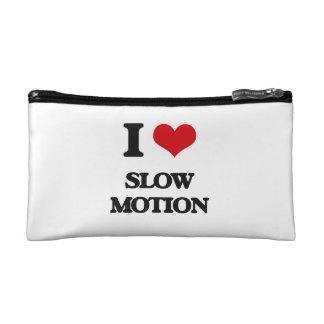 I love Slow Motion Makeup Bags