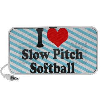 I love Slow Pitch Softball Travel Speakers