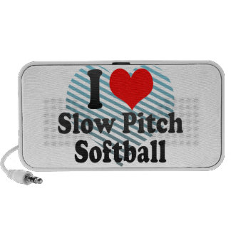 I love Slow Pitch Softball Portable Speakers
