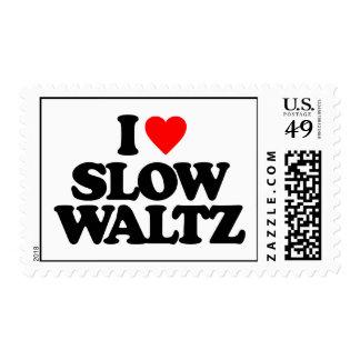 I LOVE SLOW WALTZ STAMPS