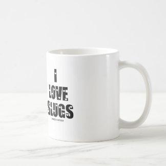 I Love Slugs (Naturalist / Nature) Classic White Coffee Mug