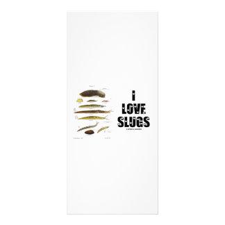 I Love Slugs (Naturalist / Nature) Rack Card