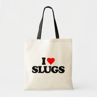 I LOVE SLUGS TOTE BAG