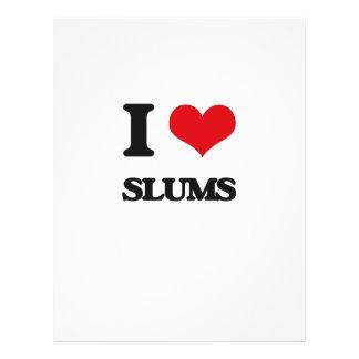 I love Slums Flyer