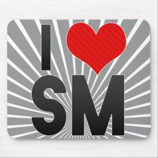 I Love SM Mouse Pad