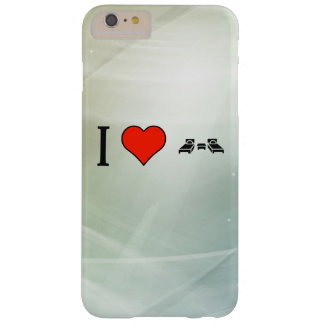 I Love Small Bedrooms Barely There iPhone 6 Plus Case