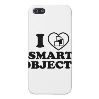 I love smart objects cover for iPhone SE/5/5s