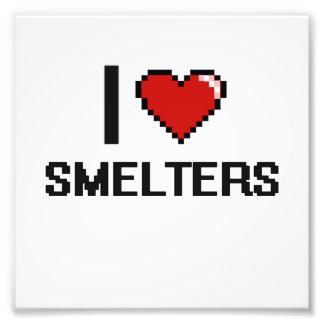 I love Smelters Photo Print