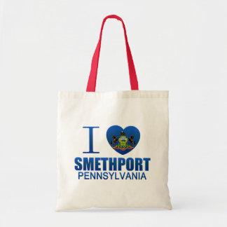 I Love Smethport, PA Tote Bag
