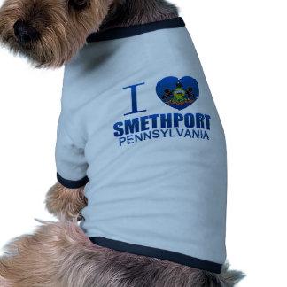 I Love Smethport, PA Pet T Shirt