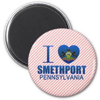 I Love Smethport, PA Fridge Magnets
