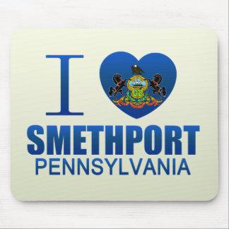 I Love Smethport, PA Mousepad