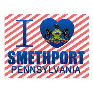 I Love Smethport, PA Post Card