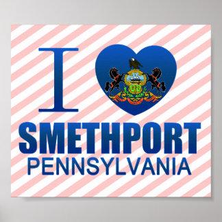 I Love Smethport, PA Poster
