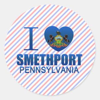I Love Smethport, PA Stickers