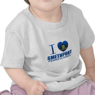 I Love Smethport, PA T-shirts