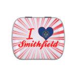 I Love Smithfield, Utah Jelly Belly Candy Tin