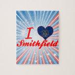 I Love Smithfield, Utah Jigsaw Puzzles