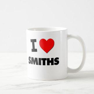 I Love Smiths Classic White Coffee Mug