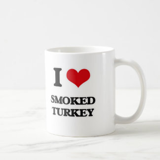 I Love Smoked Turkey Coffee Mug