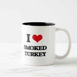 I love Smoked Turkey Two-Tone Coffee Mug