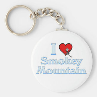 I love Smokey Mountain Keychain