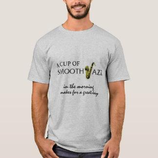 I Love Smooth Jazz Fan Club 3247 Grey Shirt 6502