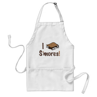 I Love S'mores Adult Apron