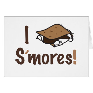 I Love S'mores Card