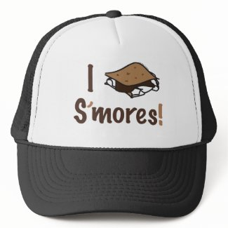 I Love S'mores hat