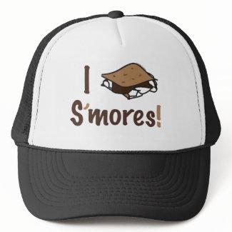 I Love S'mores hat