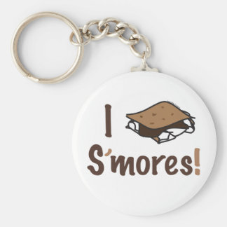 I Love S'mores Giftware Keychains