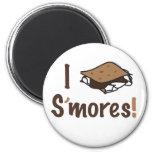 I Love S'mores Magnets