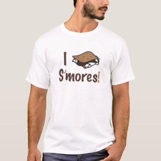 I Love S'mores T Shirt