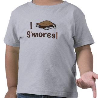 I Love S'mores T Shirt