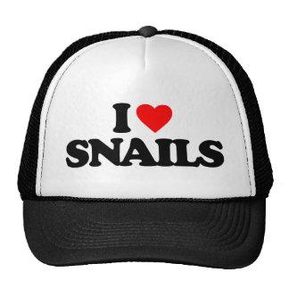 I LOVE SNAILS MESH HAT