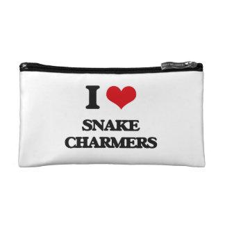 I love Snake Charmers Makeup Bag