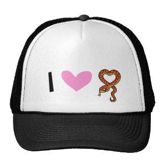 I Love Snakes Hat