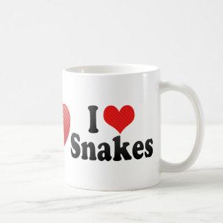 I Love Snakes Mugs
