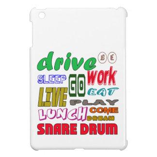 I Love Snare Drum iPad Mini Cases