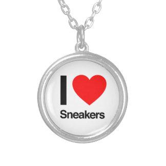 i love sneaker custom necklace