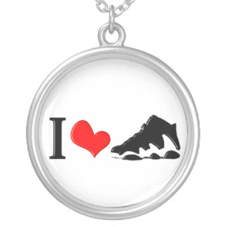 I love sneakers necklace